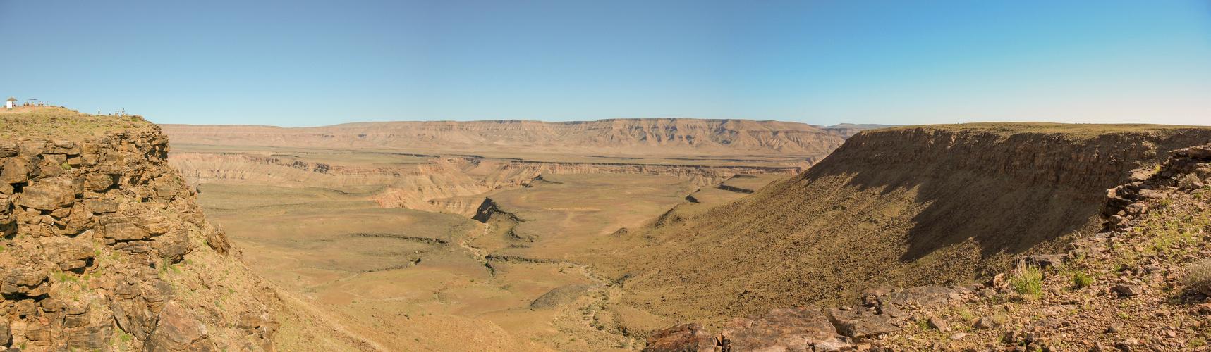 Fish River Canyon im Süden Namibias