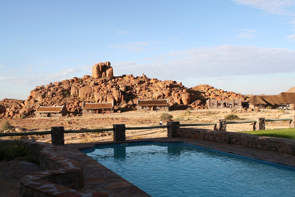 * fish river canyon village - the pool *
