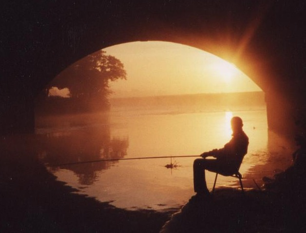 fisherman at sunrise...