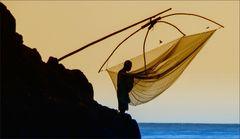 * Fisherman at work ***