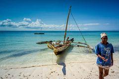 Fishermen at Chwaka Bay