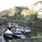 Fishing Boats in Staithes