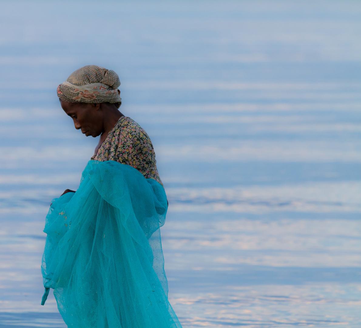 Fishing on Pangani coast, Tanzania