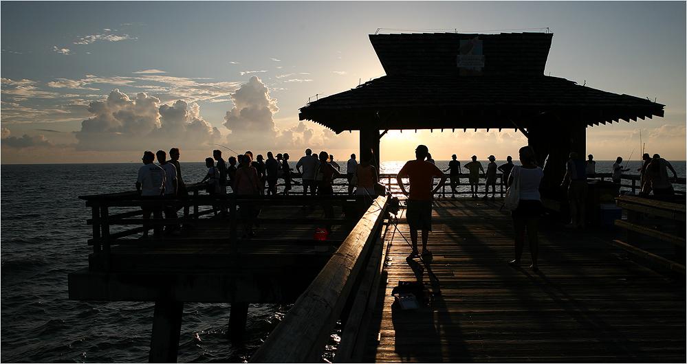 Fishing Pier in Naples