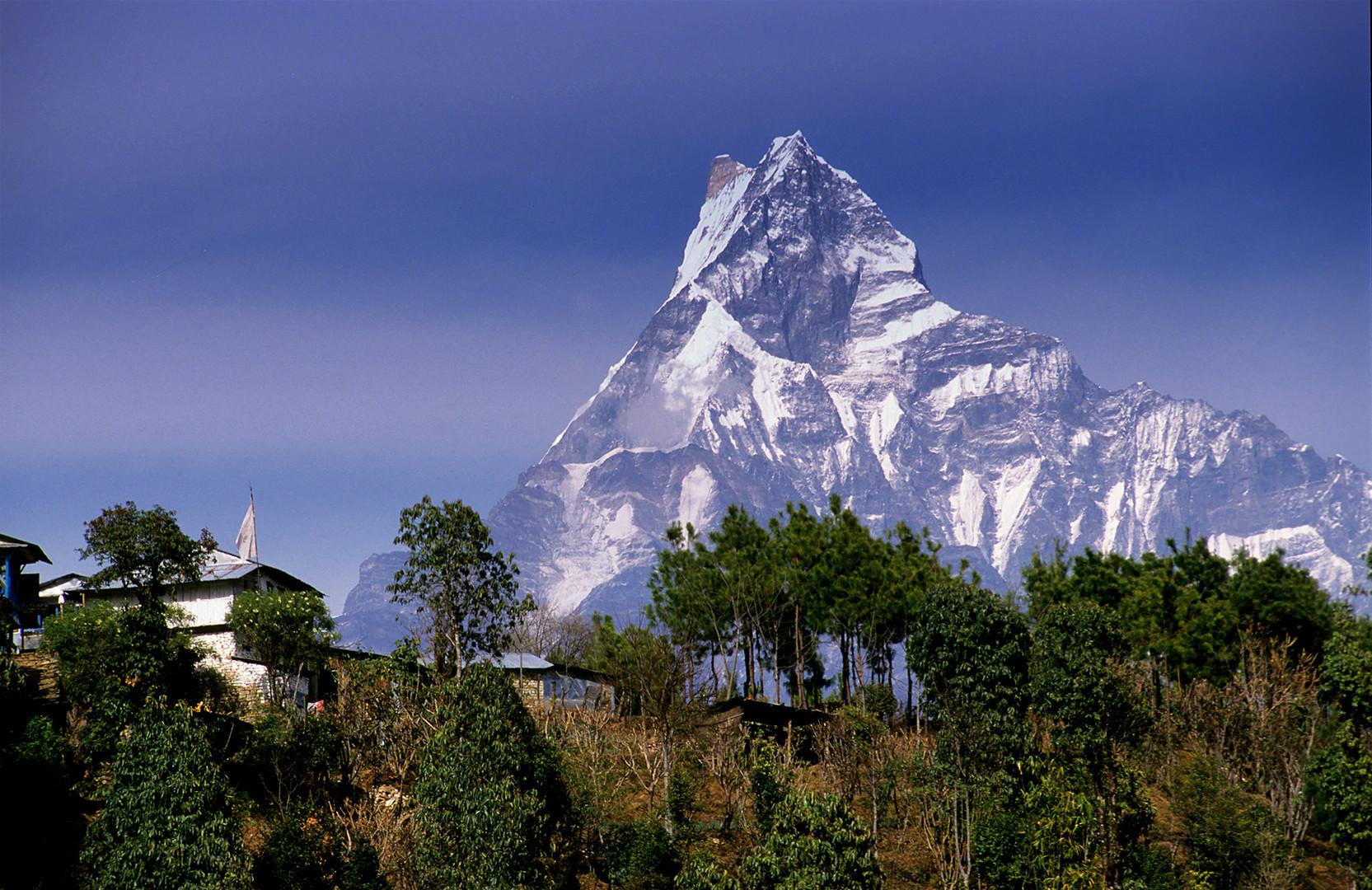 Fishtail - einer von Nepals heiligen Bergen