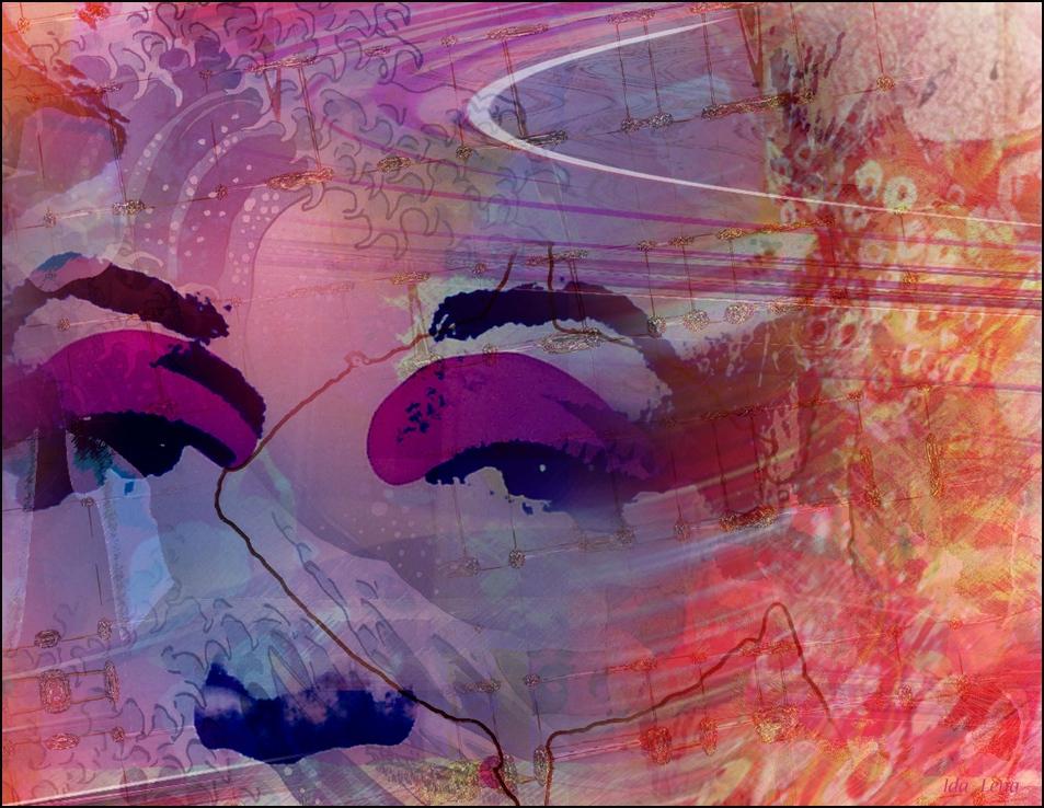 """ fisk's purple ~ wave """