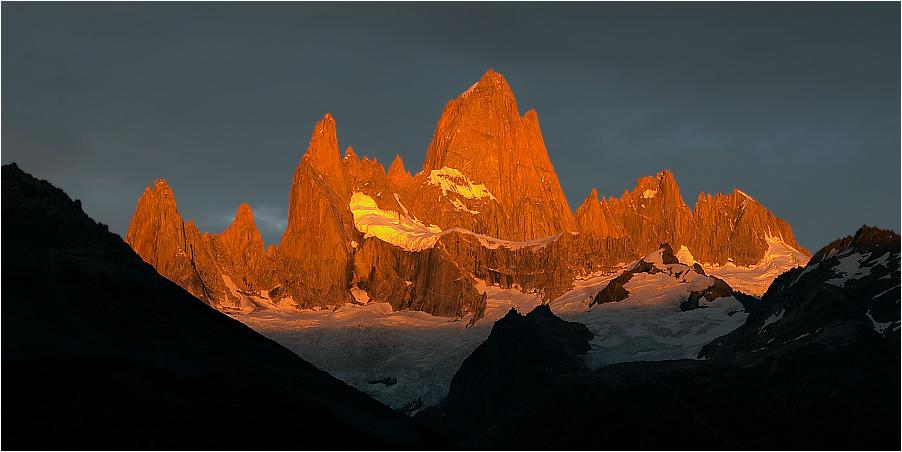 Fitzroy Sunrise, PN Los Glaciares