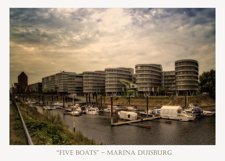 """Five Boats"""
