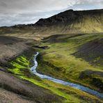 Fjallabak - Flusstal