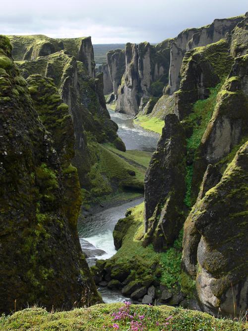 Fjarðárgljúfur-Schlucht