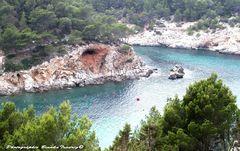 Fjord aehnliche Bucht von Sant Miquel -Ibiza
