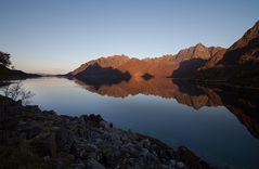 ...Fjord im Abendlicht...