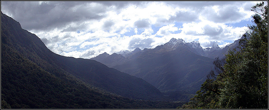 Fjordland Berge