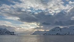 FJORDLANDSCHAFT bei OKSFJORD (Finnmark/NOR)