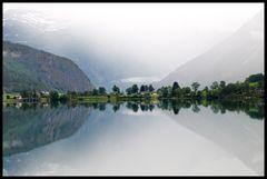 Fjordspiegelung
