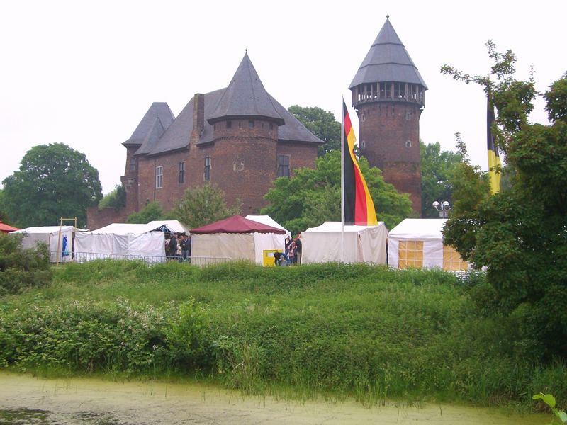 Flachsmarkt Burg Linn / Krefeld