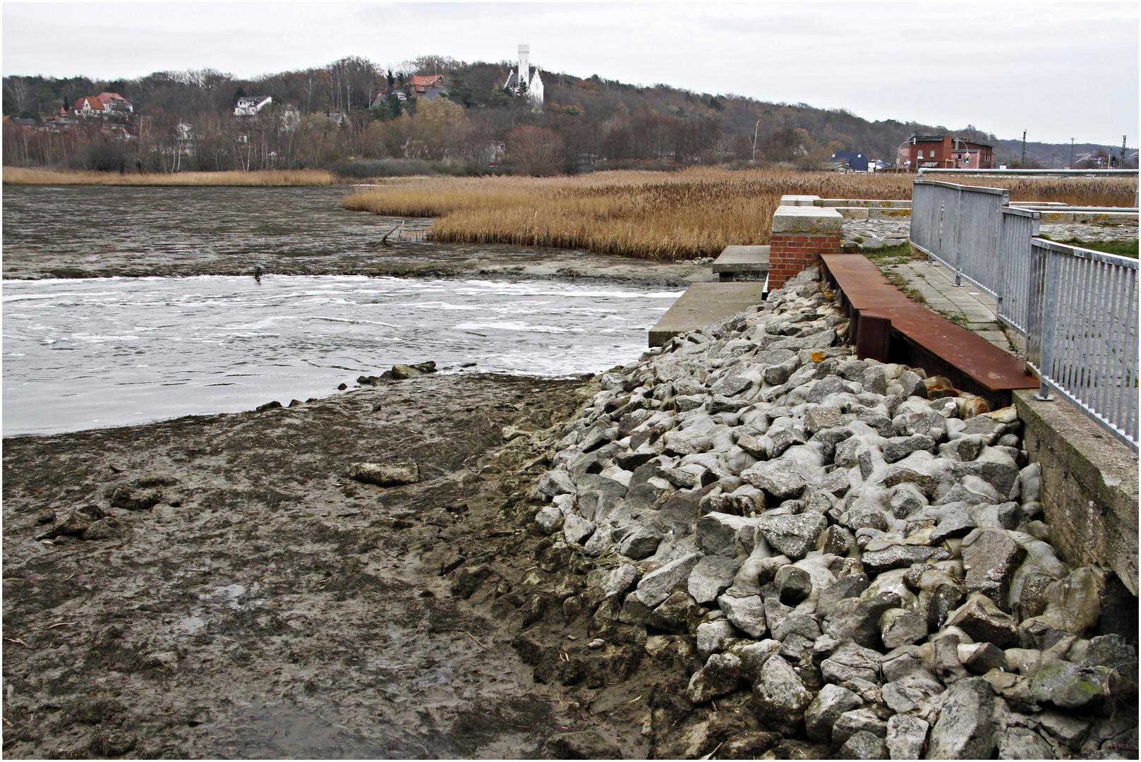 Flachwasser bei Lietzow