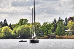 Flaggschiff des Akademischen Seglerverein Herrsching am Ammersee