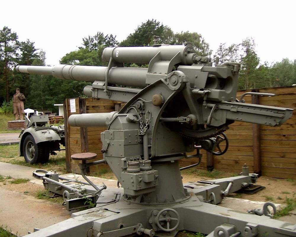 """Flak 88 Geschütz """"Bertha"""""""