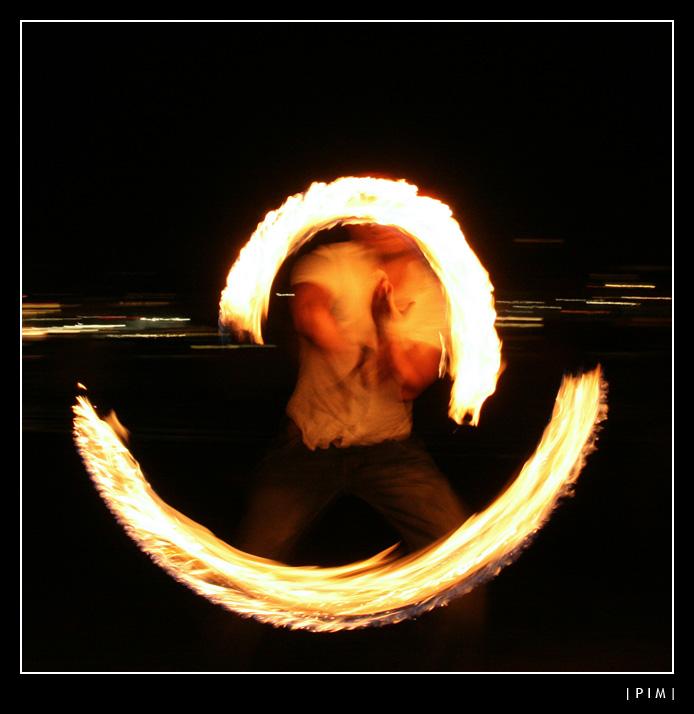 Flame-juggler