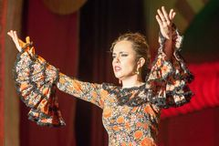 """Flamenco dancer - """"Here I am!"""""""