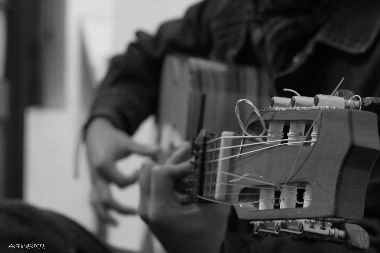 Flamenco en la guitarra