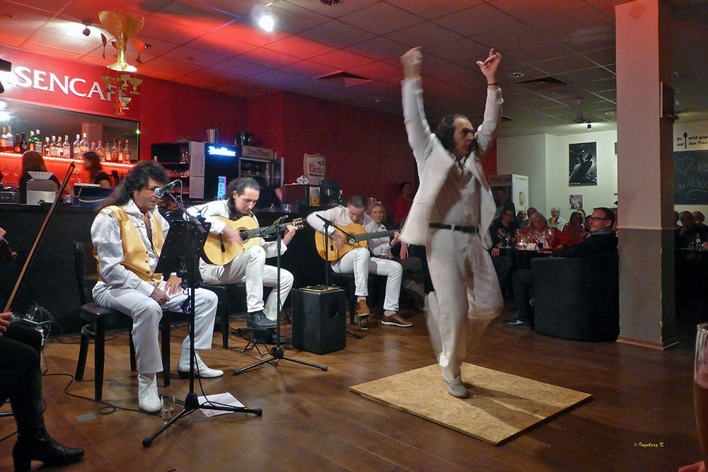 Flamencoabend im Börsencafé Neuss - Tänzer