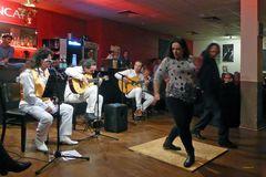 Flamencoabend im Börsencafé Neuss -Tänzerin