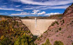 Flaming Gorge Dam, Utah, USA