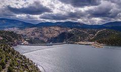 Flaming Gorge Reservoir & Dam, Utah, USA