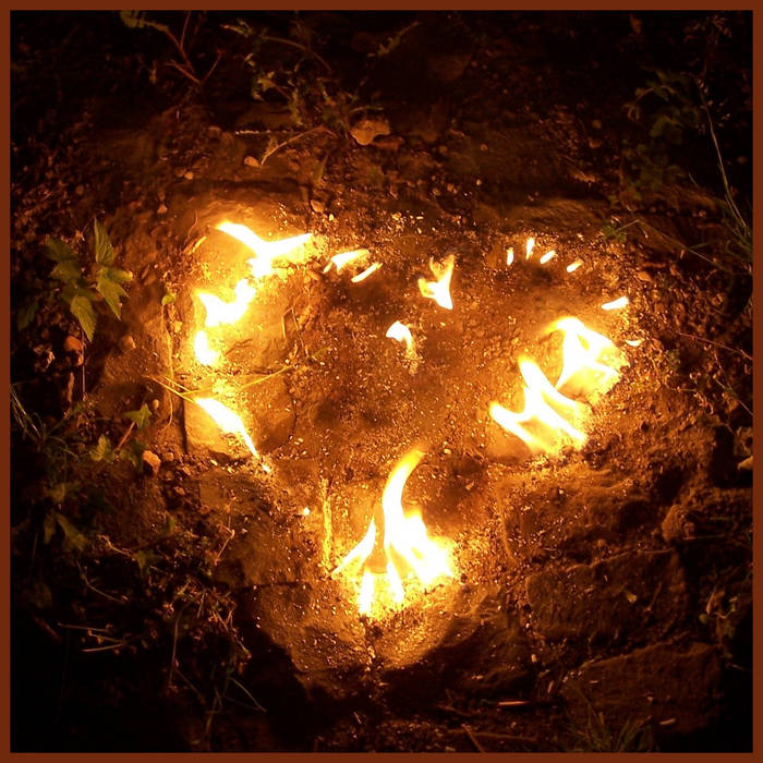 .flaming heart