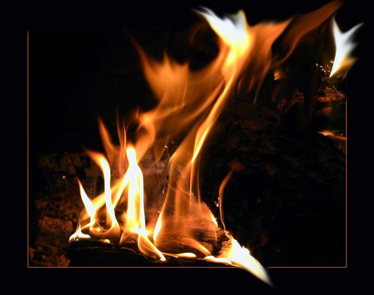 Flammen......