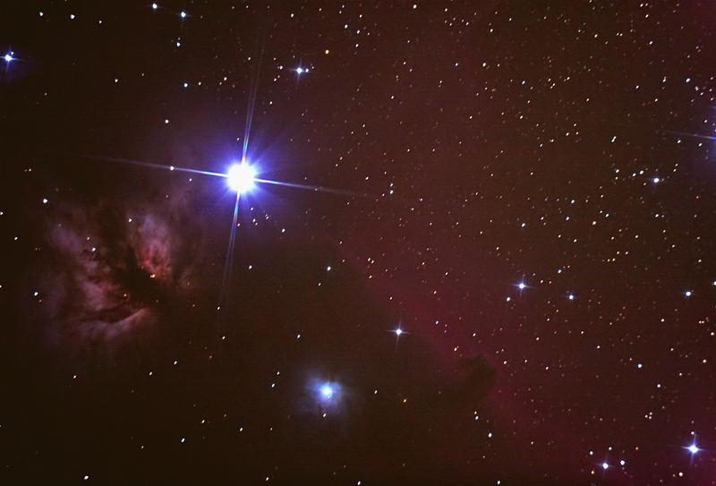 Flammen- und Pferdekopfnebel (NGC2024 und B33)