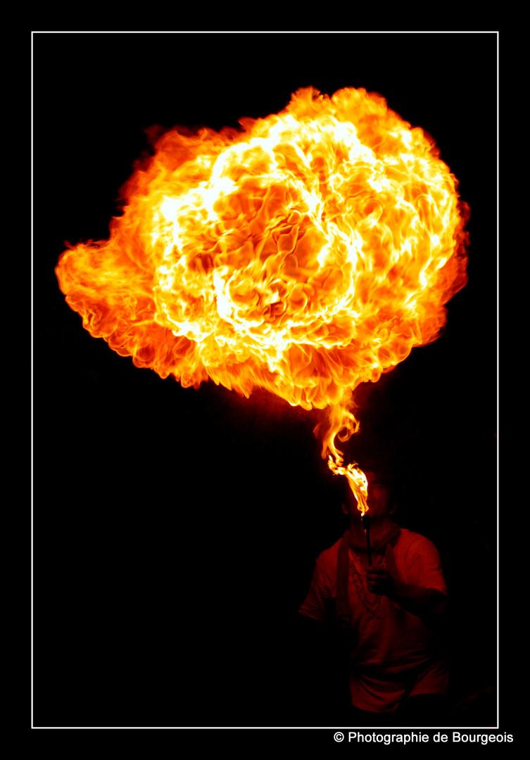 Flammender Atem