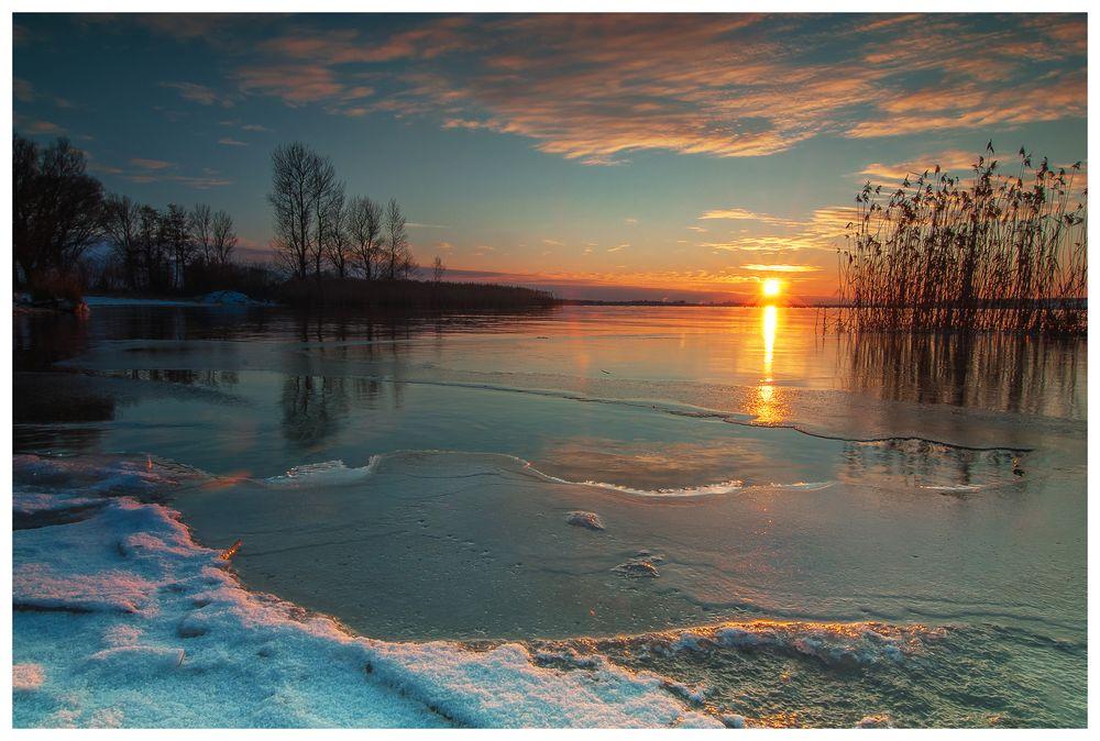 flammender Frost