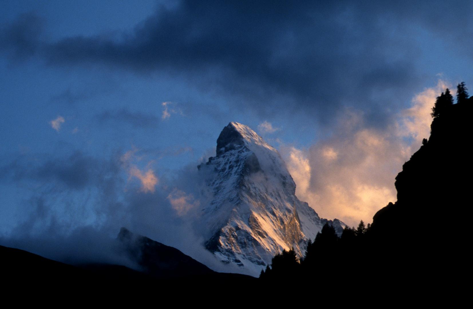 Flammendes Matterhorn