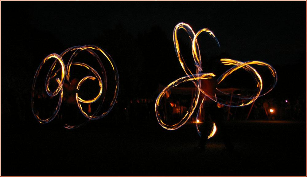 Flammenwirbel