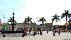 Flanieren in Lima