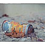 Flasche auch leer