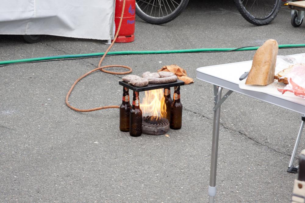 Flaschen - Grill