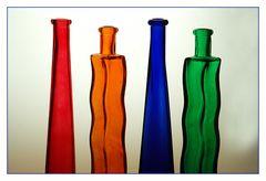 Flaschen im Licht