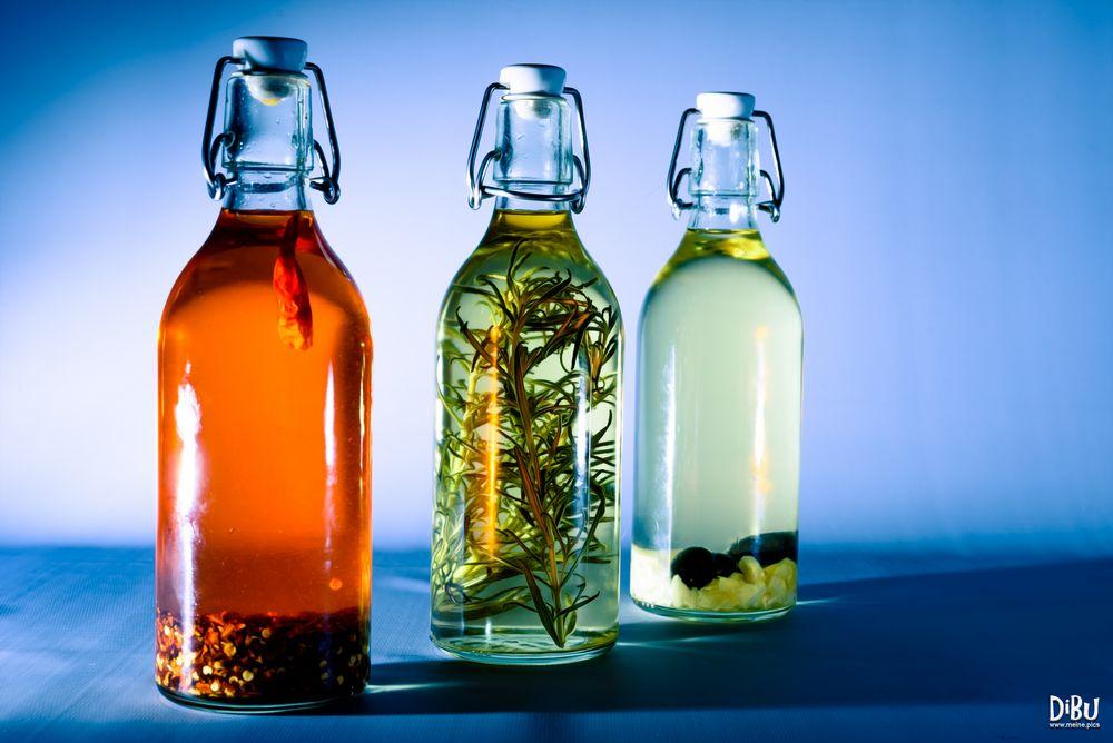 Flaschen in Öl 1