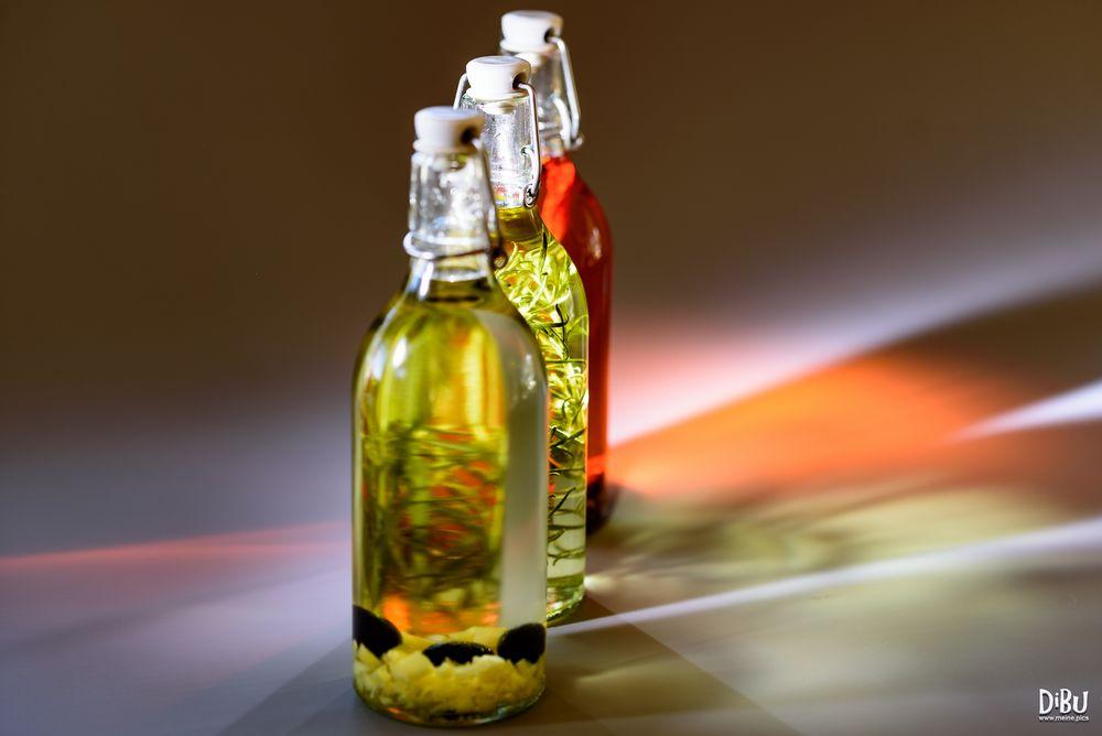 Flaschen in Öl 3