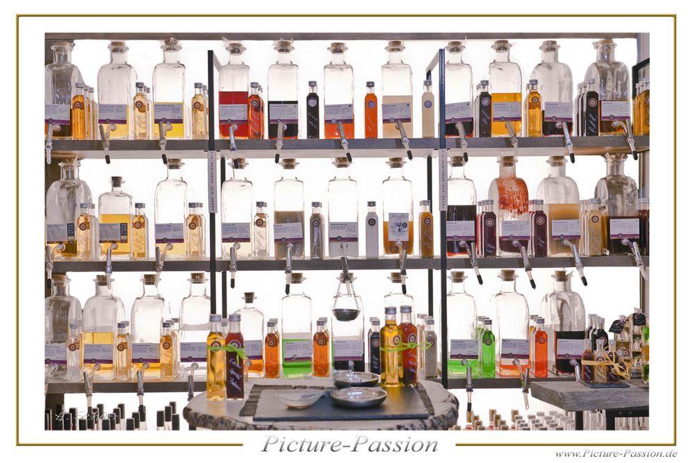 Flaschen Sammlung