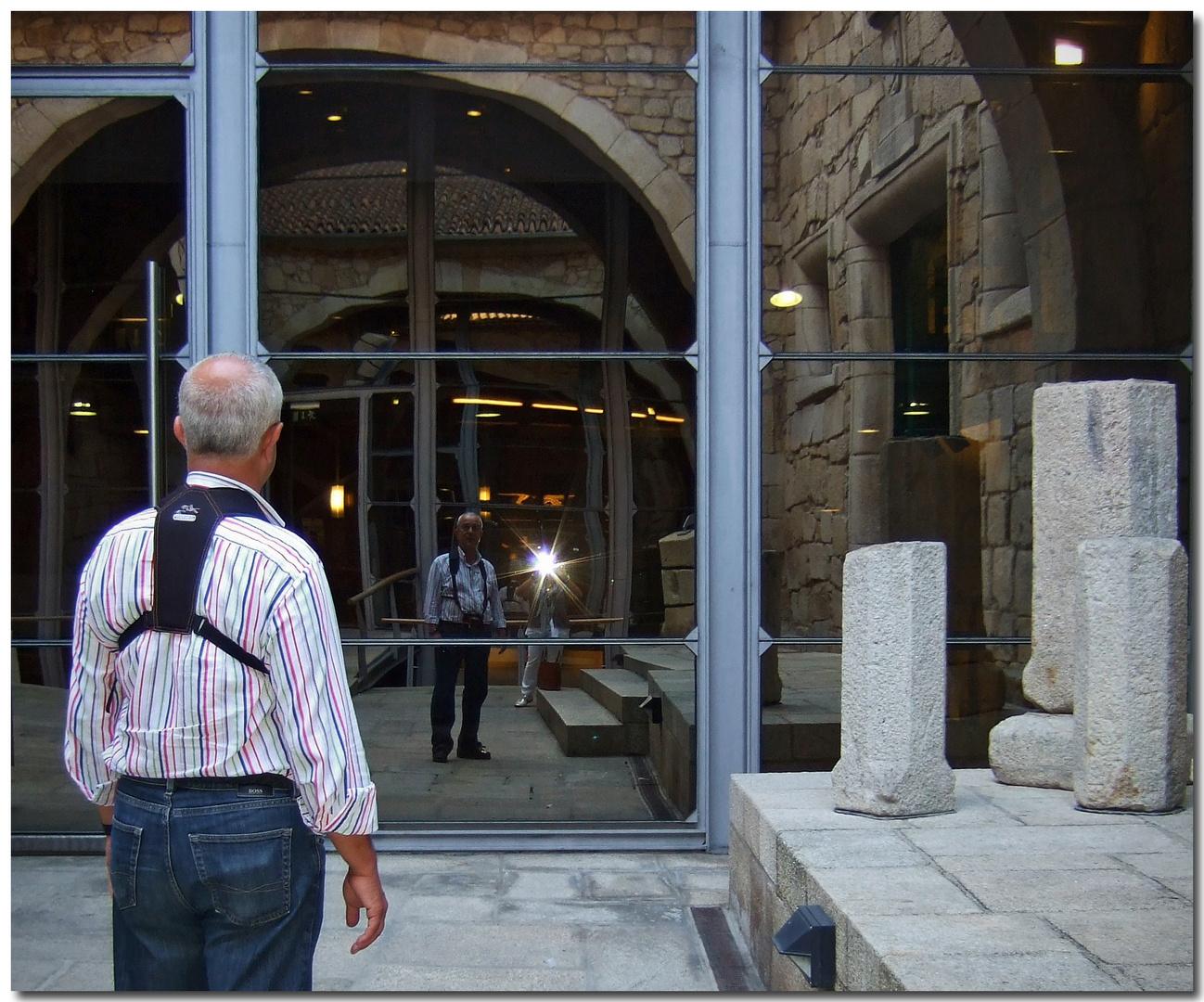 Flash no museu