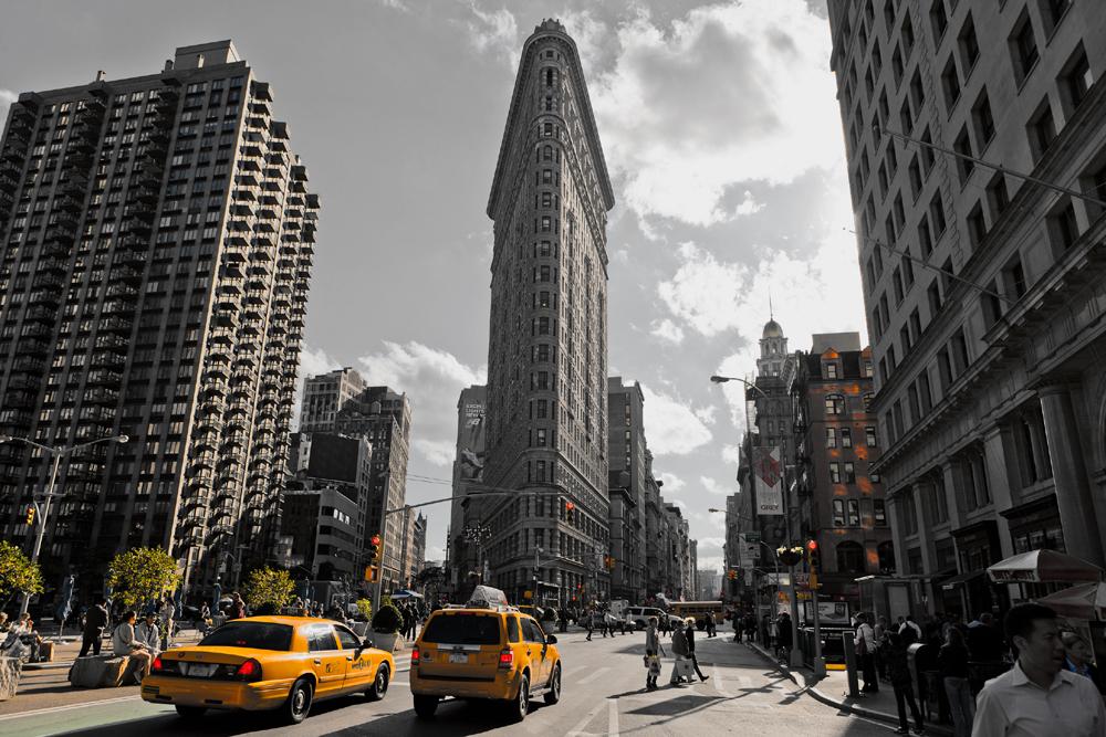 flat iron building manhattan new york foto bild architektur hochh user profanbauten. Black Bedroom Furniture Sets. Home Design Ideas