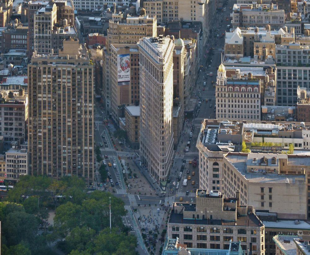 """ Flatiron Building """