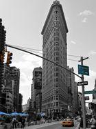 Flatiron Building en demi teinte
