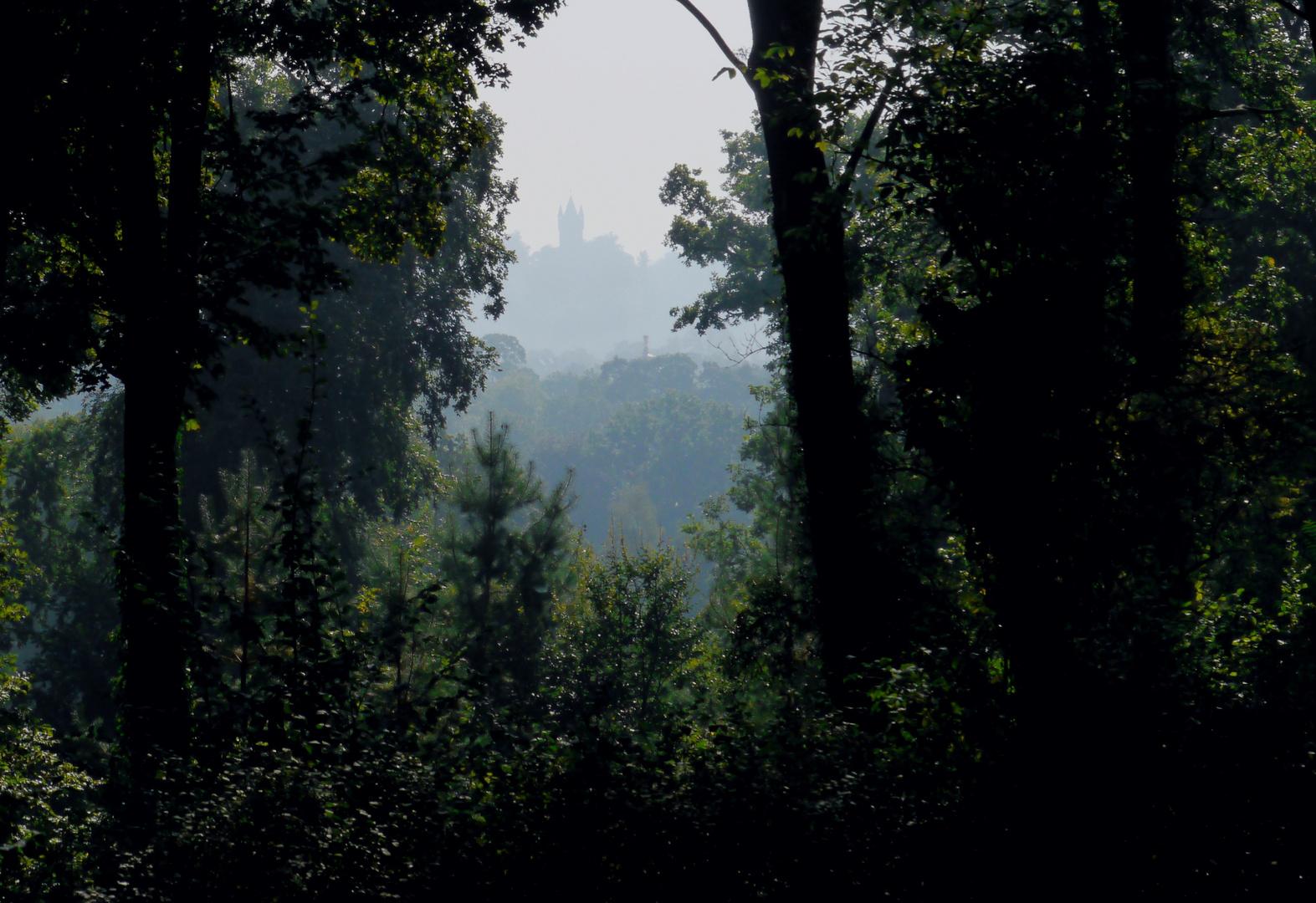 Flatow - Turm im Nebel