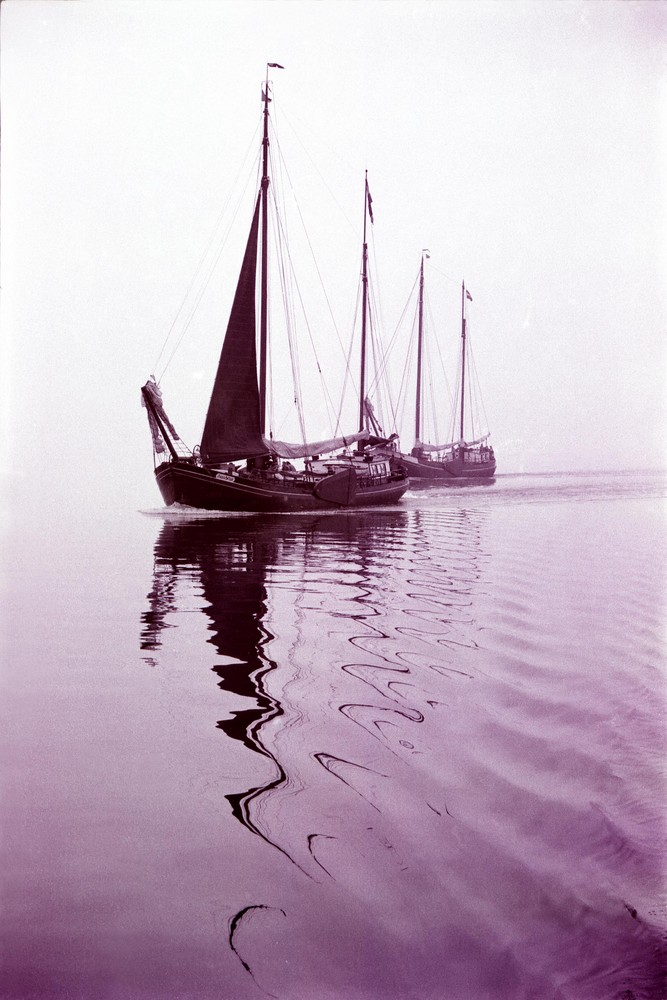 Flaute im Isselmeer